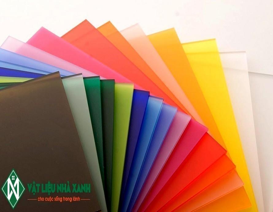 Mica Đài Loan đầy đủ màu sắc và độ dày